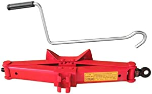 TON Tonne Scissor Jack Lift Wind for CAR Van Garage Home Emergency Quality