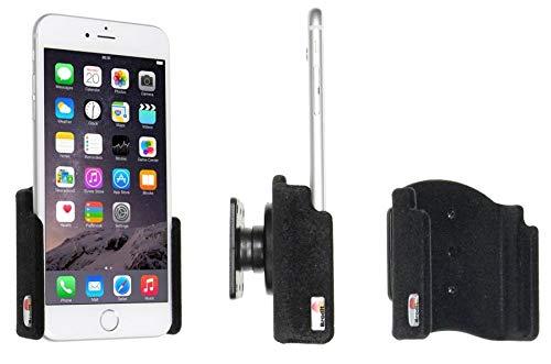 Brodit 511804 Supporto per iPhone 6S, 7, 8 Plus, e XS Max con Base Girevole, Nero