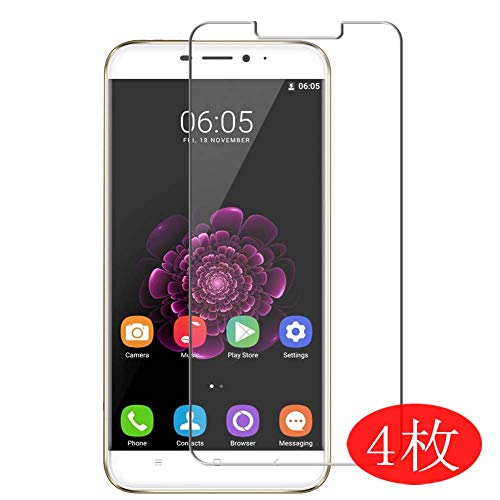 【4 Pack】 Synvy Screen Protector for Oukitel U20 Plus 0.14mm TPU Flexible HD Clear Case-Friendly Film Protective Protectors [Not Tempered Glass] New Version