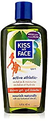 Kiss My Face Shower Gel, Active Athletic