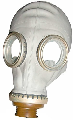 Military Outdoor Clothing Never Issued Russian Gas Mask (Costume) [Mask & Bag] (2)