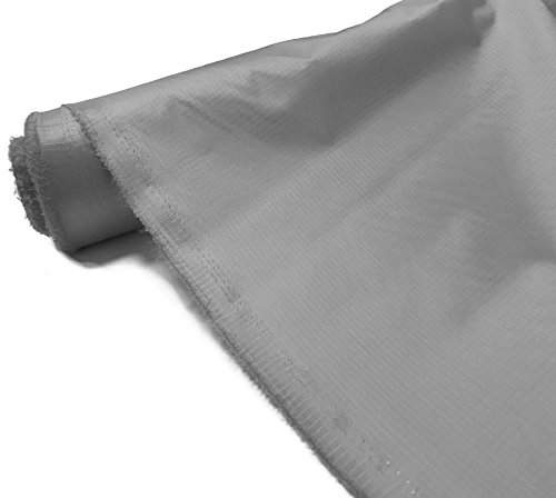A-Express Grey Ripstop Fabric Waterproof 3.8oz Kite Material Outdoor Cover 2x Meters