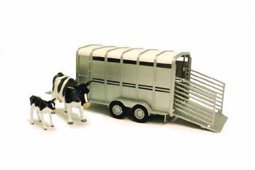 Tomy Big Farm - 42709 - Véhicule Miniature - Bétaillère avec Vaches