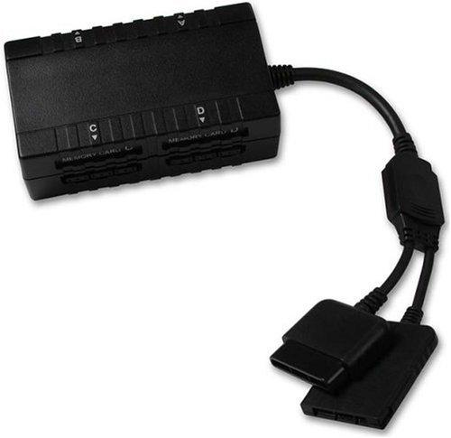 Speedlink Mehrspieler Adapter für die Playstation 2 (mit vier Controllern an einer PS2 spielen)
