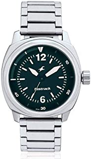 Fastrack His and Her Upgrade Analog Green Dial Men's Watch - 3076SM04