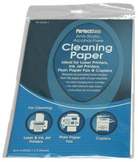PerfectData Paper Path Clean Sheets, White (50-105556-1)