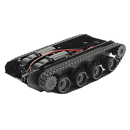 Yellow wang Smart Robot Tank Car Chassis Kit Gummiketten-Crawler für Arduino 130 Motor