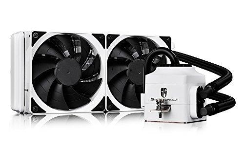 DEEPCOOL Captain 240EX White AIO Liquid CPU Cooler