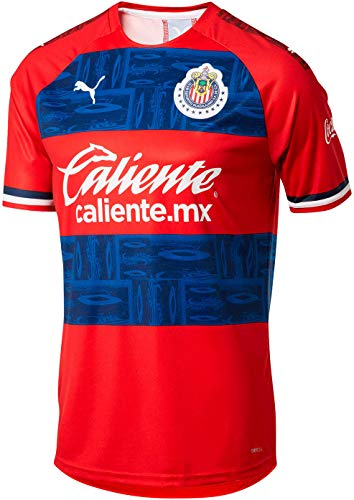 Puma 2019-20 Chivas Away Jersey - Red-Blue M