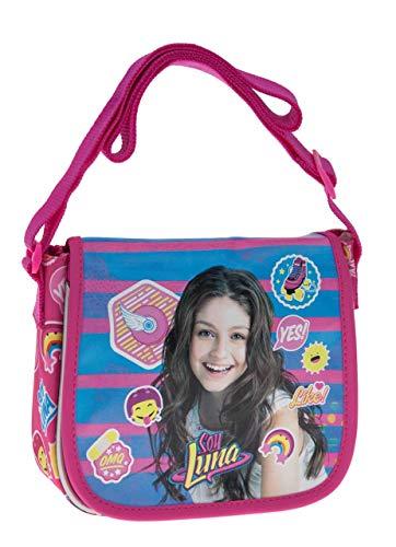 Disney Yo Soy Luna Bolso Bandolera, 1.02 litros, Color Rosa
