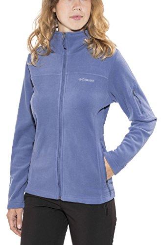 Columbia Damen Fleecejacke, mit durchgehendem ReißverschlussFast Trek II Jacket, Microfleece Polyester, hellblau (Bluebell), Gr. M, EL6081