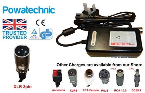 Intelligentes Blei-Säure-Batterieladegerät, 24 V/29,4 V, 2 A, für Elektrofahrräder, Rollstühle und mehr