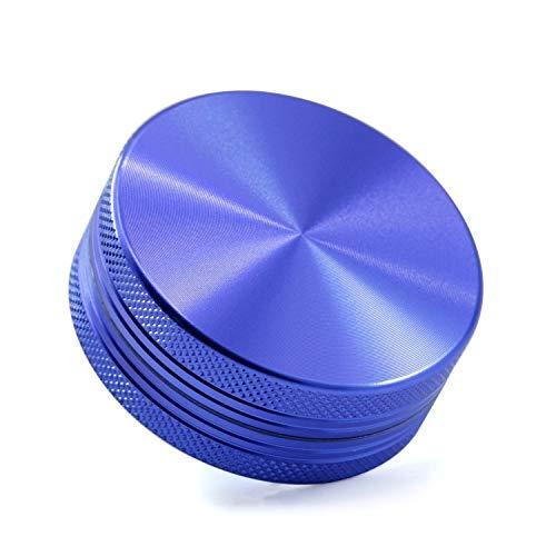 HDGAE Metalen slijpmachine zinklegering grinding kruiden koffiebonen zout afneembare draagbare gebruikte gebruikte voor privégebruikers keuken 2 lagen 50 mm