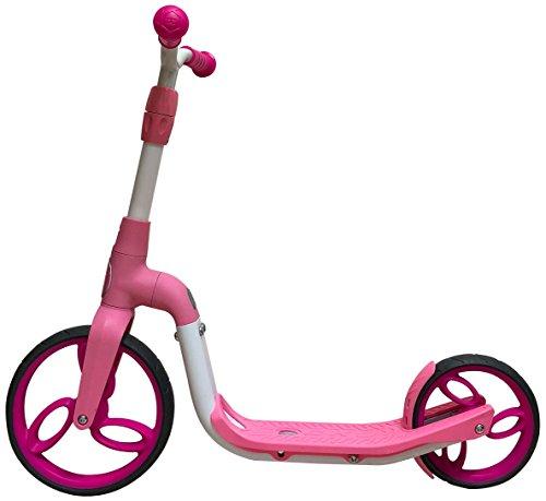 SportPlus - Trottinette 2 en 1 - Adaptée pour les jeunes Enfants en tant que Vélo sans Pédale - Adaptée pour les plus Grands en tant que Trottinette - Longue Durée de vie et Résistante