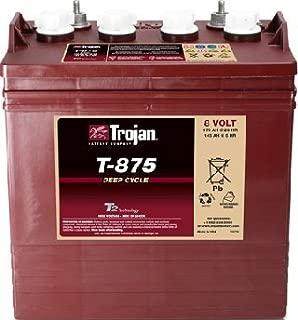 Lot of 6 Trojan T-875 8V Golf cart batteries