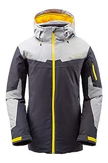 Spyder Men's Chambers Gore-Tex Ski Jacket – Male Full Zip Hooded Winter Coat, Large, Ebony (B07L1BJY14) | Amazon price tracker / tracking, Amazon price history charts, Amazon price watches, Amazon price drop alerts