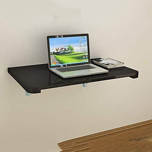 LLA Montado en la pared plegable de mesa de alas abatibles, plegable Cocina Comedor escritorio de la tabla de almacenamiento en rack Tabla Muro,60 * 40cm