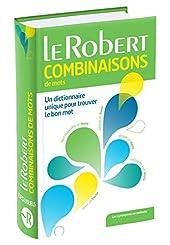 Dictionnaire des combinaisons de mots - poche+