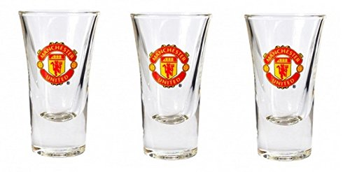 Manchester United Vodka Shot Bril Fijn Drank Bar Shooter 50 ml Set Van 3