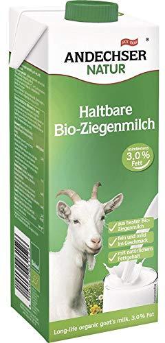 Andechser Natur Bio Bio Ziegen-H-Milch 3,0% (6 x 1000 ml)