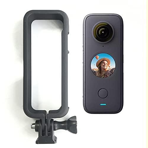 """Motutech - Marco de protección y soporte adaptador para cámara Inta360 One X2 (1/4"""", tornillo universal, conector a trípode, palo de selfie)"""