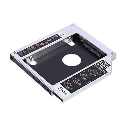 Mavis Laven Adaptador SATA I/II/III SSD HDD de 12.7 mm Unidad de Disco Duro Bandeja de la Bandeja de la Computadora Adaptador de DVD para el Portátil