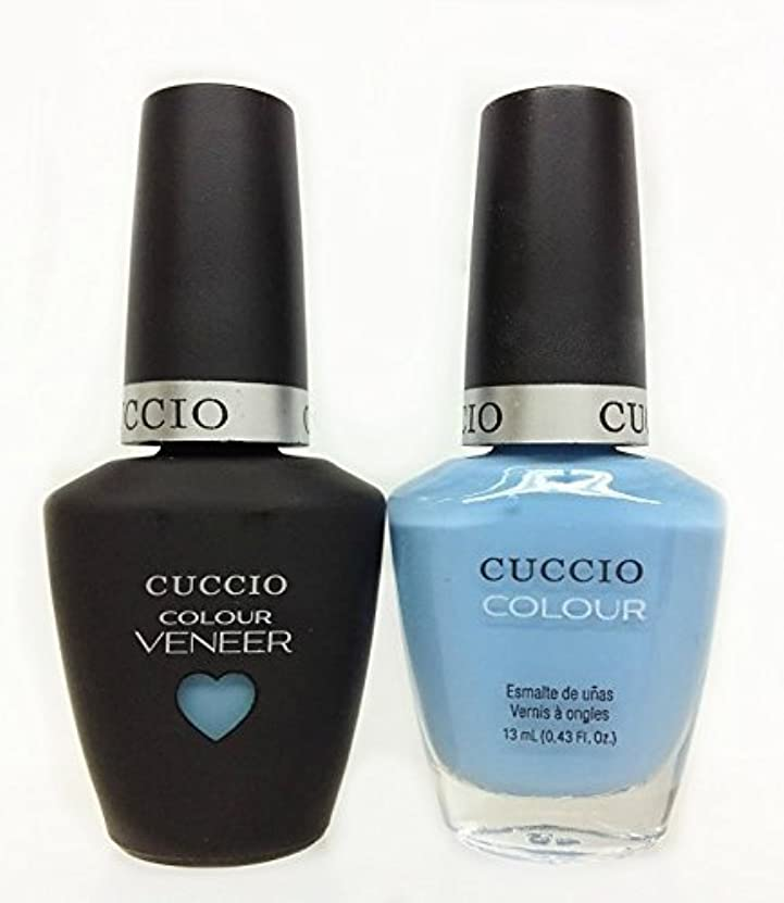 ルネッサンスワードローブとティームCuccio MatchMakers Veneer & Lacquer - Under a Blue Moon - 0.43oz / 13ml Each