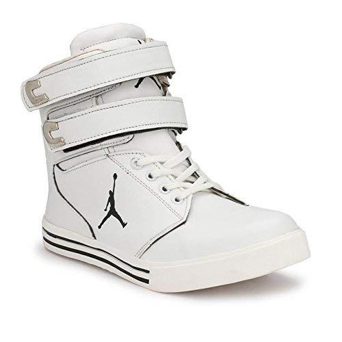 DEV Foot Style Men's White Casual Sneaker Hip Hop Shoe