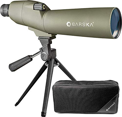 BARSKA Colorado Waterproof Spotting Scope Black