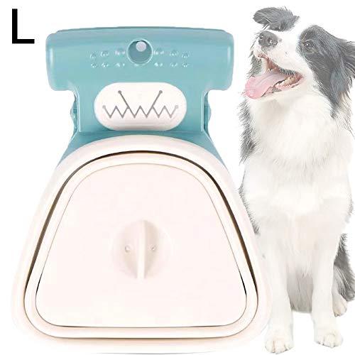 RainbowBeauty Xiton Hundekot Scooper Haustier Wc Picker Pet Travel Faltbare Poo Collector Hundetoilette Scooper Hundekotbeutel-Spender Für Haustier-außen Gehen Grün Große