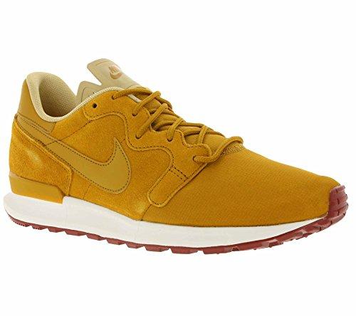 Nike - Zapatillas de Material Sintético para Hombre Marrón Amarillo Size: 44