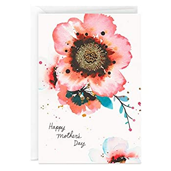 Hallmark Signature Mother s Day Card  Watercolor Flowers