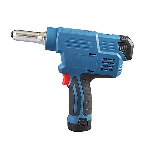 ZINRK Pistola eléctrica del Remache, la bisagra Herramienta for DIY 12V batería...