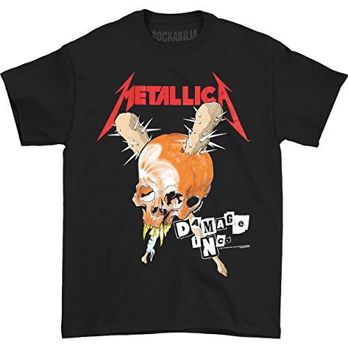 Metallica Men's Damage Inc. T-shirt Large Black