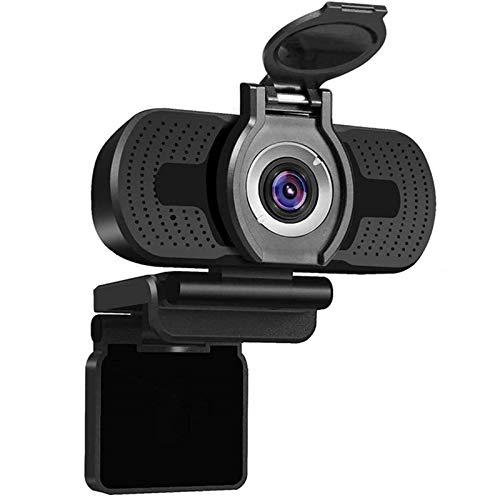Webcam 1080p Cámara Web USB con micrófono HD Cubierta Webcam 1080p para PC Youtube Video Computer Cámara Cámara Web para Twitch Steam Streaming Webcam con Microfono para Pc (Color : 1080P)