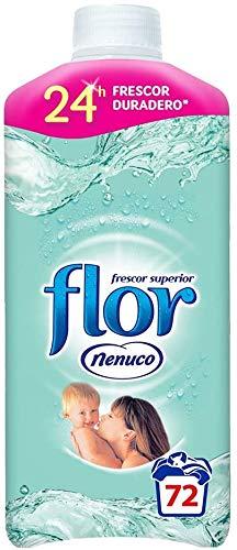 Flor - Suavizante para la ropa concentrado, aroma nenuco, hipoalergénico - 72 dosis