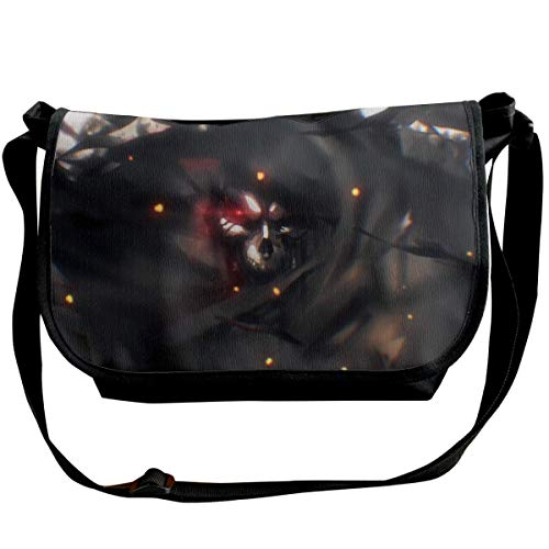 DIs Overlord-Ainz Ooal Kleid Mode Anime Messenger Bags Anime Single Shoulder Pack für Jugendliche Wide