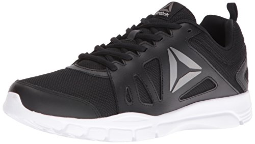 Reebok Men's Trainfusion Nine 2.0 L MT Running Shoe, Black/Pewter/White  - 7 D(M) US