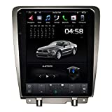 12.1 ''IPS Screen Android Car Stereo for Ford Mustang 2010 2011 2012 2013 2014 Head Unit Car Stereo Auto Multimedia Player with DSP WiFi Wireless Carplay (Android 9,4GB RAM 64GB ROM)