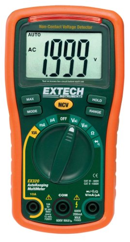 Extech Mini Multimeter mit Auto-Range Funktion, 1 Stück, EX320