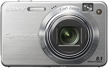 Sony Cybershot DSCW150 8.1MP Digital Camera with 5x Optical Zoom with Super Steady Shot (Silver)