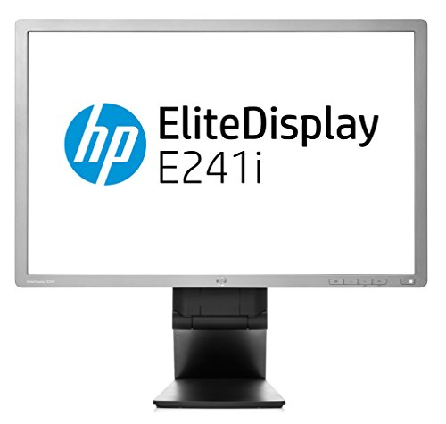 HP E241I F0W81AT 60,9 cm (24,0 Zoll) Monitor (VGA, USB, 8ms Reaktionszeit, 1920 x 1200) silber/schwarz