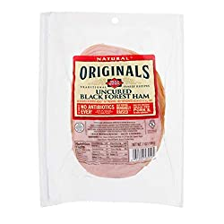 Dietz & Watson Originals Pre-Sliced No Antibiotics Ever Black Forest Ham, 7 oz