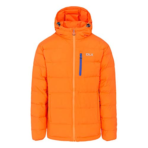 Trespass Herren Crane DLX Kapuzen Daunenjacke, Orange (Sunrise), XL