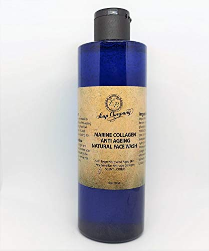 Essential Boutique Natural Face Wash With Marine Collagen 250 ml Facial Activating Skin Gel