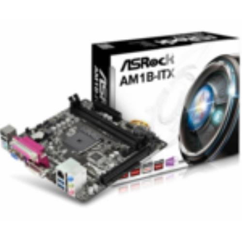 ASROCK AM1B ITX AMD AM1 AthlonSempron Mini ITX 2 DDR3 HDMI USB3 Parallel Port AM1B ITX
