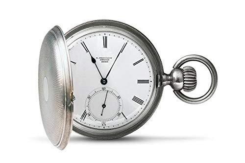LONGINES Reloj de bolsillo 1867 1992 de plata, serie numerada
