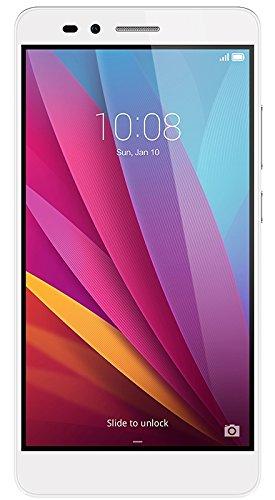 Honor 5X Smartphone, 5.5 Pollici, WiFi 802.11 b g n, Bluetooth 4.1, 1.5 GHz Octa-Core, Qualcomm, 2 GB RAM, 16 GB Memoria Interna, Fotocamera da 13 MP 5 MP, LTE, Android 5.1, Argento