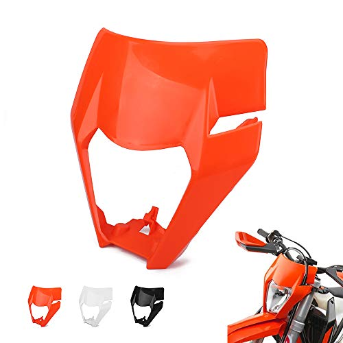 JFG RACING Moto Masque de Phare Lampe Frontale Coque Abat-Jour pour K.T.M 125150250300350450500EXC XCW Exc-f 20172018Dirt Bike Enduro Motocross Supermotor