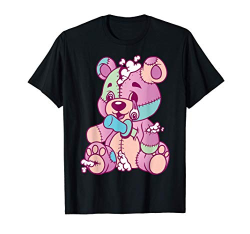 Anime Aesthetic Pastel Goth Evil Stich Teddy Bear Gifts T-Shirt